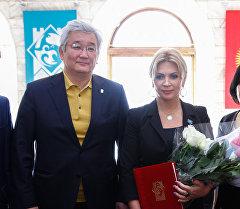 Светлана Назаренко стала почетным гражданином Бишкека