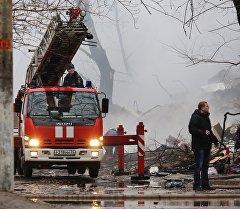 Взрыв бытового газа в многоэтажном доме по улице Космонавтов в Волгограде