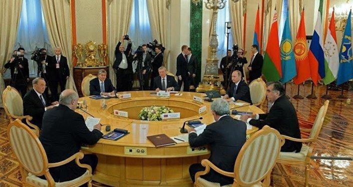 Сессия Совета коллективной безопасности ОДКБ в узком составе