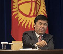 Экс-премьер-министр Темир Сариевдин архивдик сүрөт