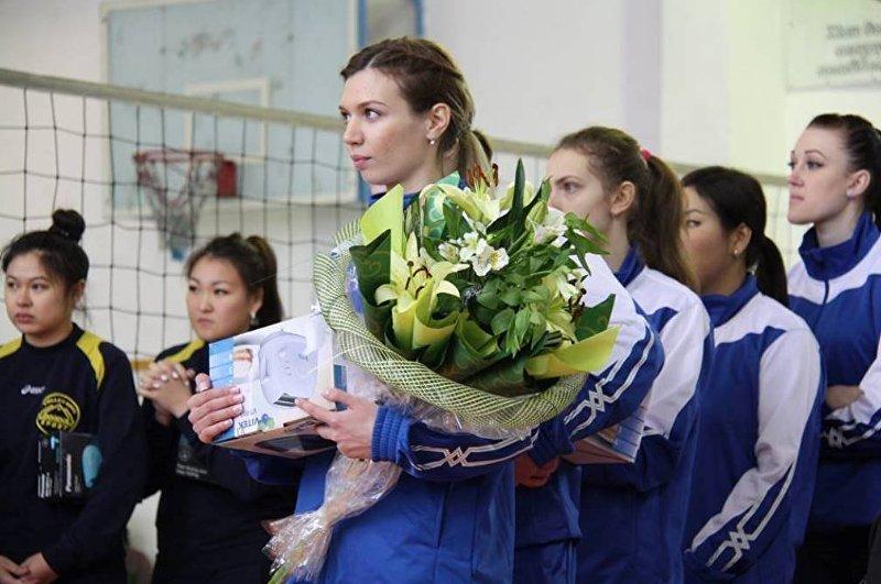 Волейболистка Анна Щелокова. Архивное фото
