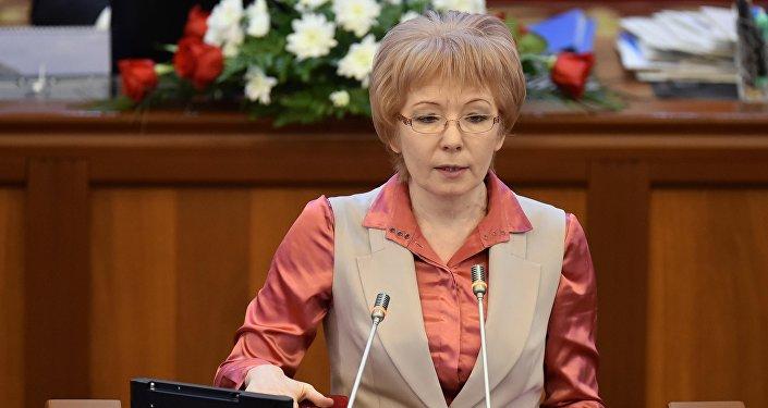 Депутат Жогорку Кенеша Евгения Строкова