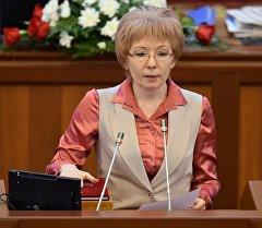 Депутат Евгения Строкованын архивдик сүрөтү