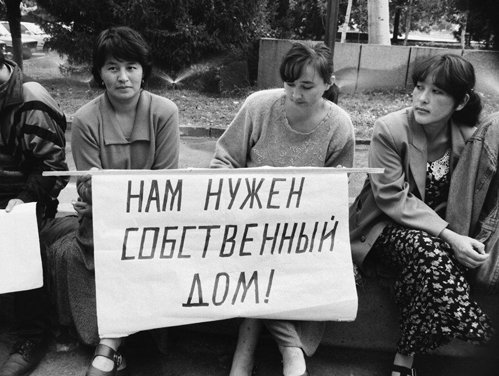Разваленная система соцобеспечения выводила вчерашних студентов на акции протеста