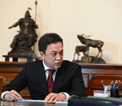 Биринчи вице-премьер Аалы Карашев. Архив