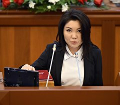 КСДП фракциясынын депутаты Эльвира Сурабалдиеванын архивдик сүрөтү