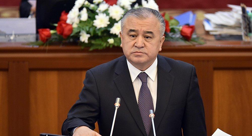 Депутат ЖК 6 созыва Омурбек Текебаев, лидер фракции Ата-Мекен. Архивное фото