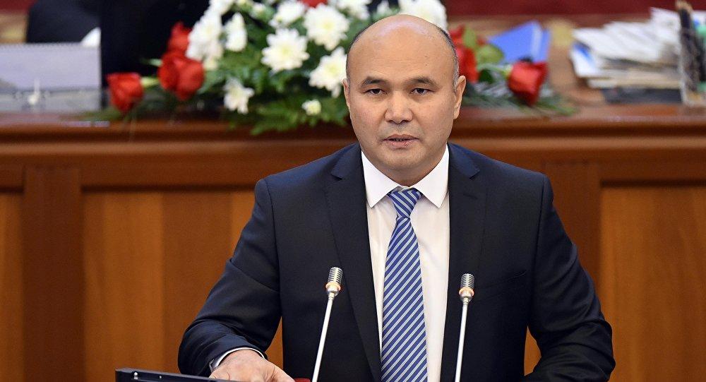 Архивное фото депутата ЖК от фракции Кыргызстан Данияра Толонова