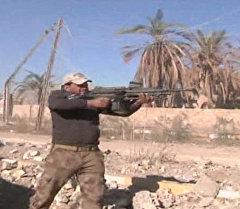 Наступление иракской армии на Эр-Рамади: пулеметная пальба и артобстрел