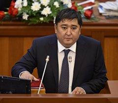 Архивное фото скончавшегося после болезни депутата ЖК Улана Чолпонбаева