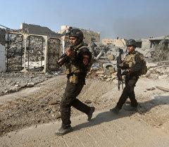Ирак аскери. Архивдик сүрөт