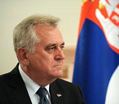 Сербиянын президенти Томислав Николич. Архив