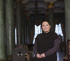 Оперная певица Асель Бекбаева. Архивное фото