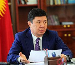 Премьер-министры Кыргызстана Темир Сариев. Архивное фото