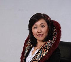 Кыргызстандын Эмгек сиңирген артисти Гүлзат Батырканова.