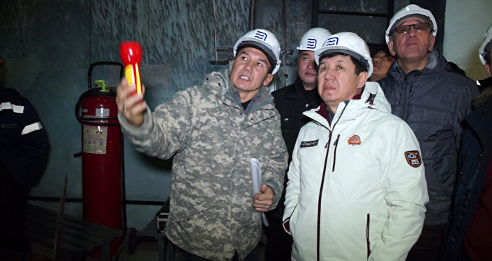 Сариев выразил благодарность энергетикам за круглосуточную работу