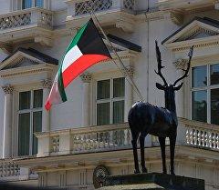 Кувейттин мамлекеттик желеги. Архив