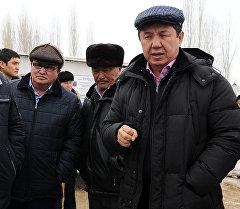 Өкмөт башчысы Темир Сариев Нарын облусуна болгон иш сапарынын алкагында Жумгал районунда.