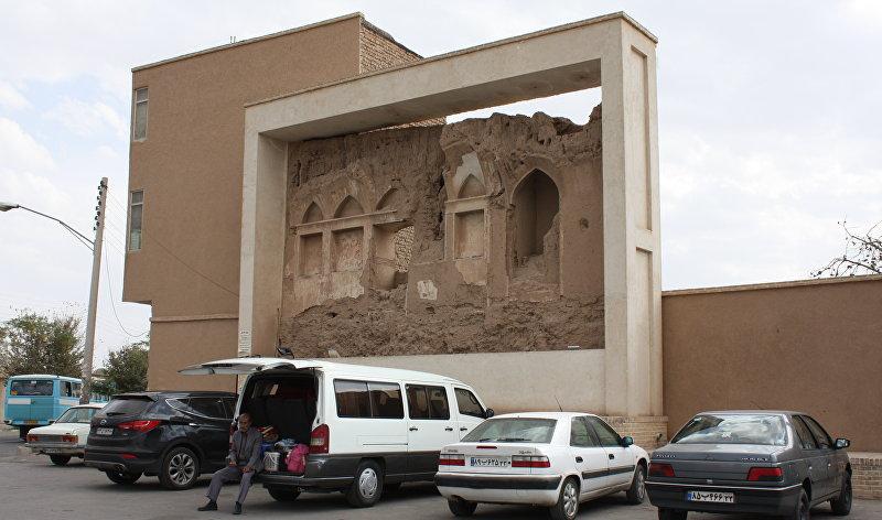 Древняя архитектура в Кашане