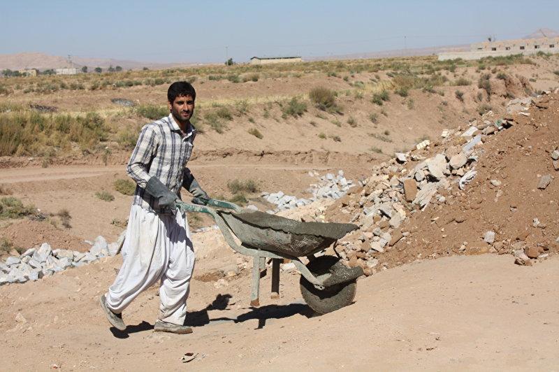 Строитель канала. Провинция Исфахан