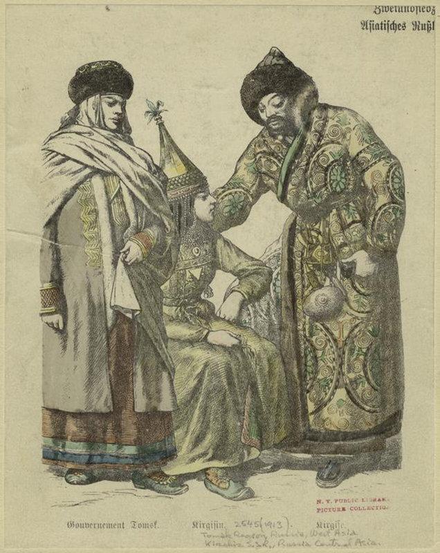 Кыргызы. 1914