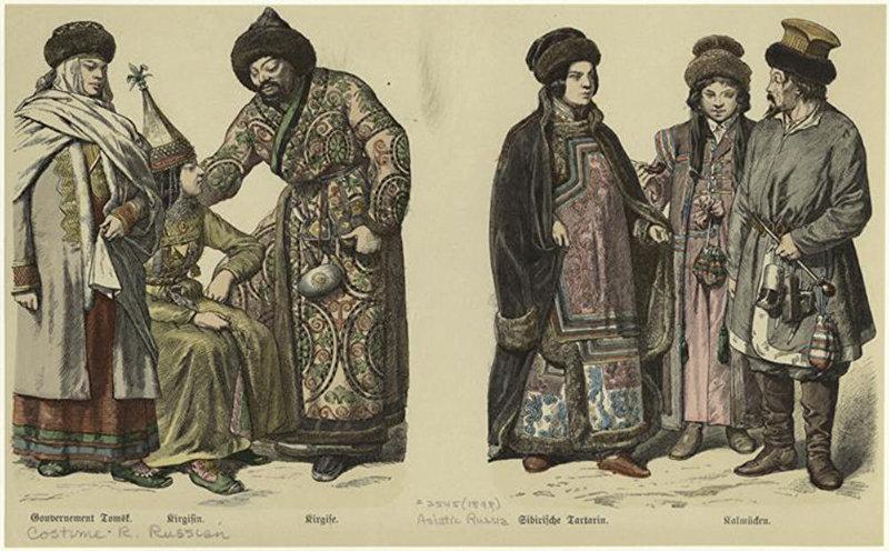 Азиатская часть России. 1894