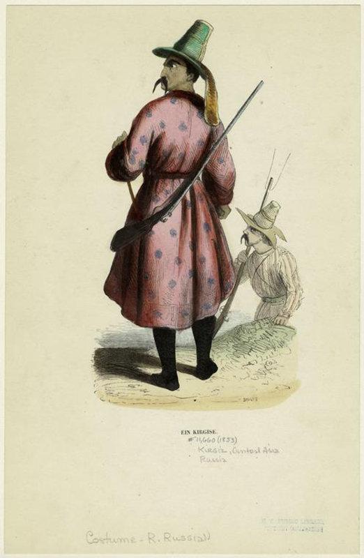 Один кыргыз. Как немцы представляли себе кыргызов в 1850-е годы