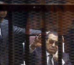 Египеттин мурдагы президенти Хосни Мубарак. Архив