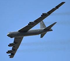 Cтратегический бомбардировщик США B-52. Архивное фото