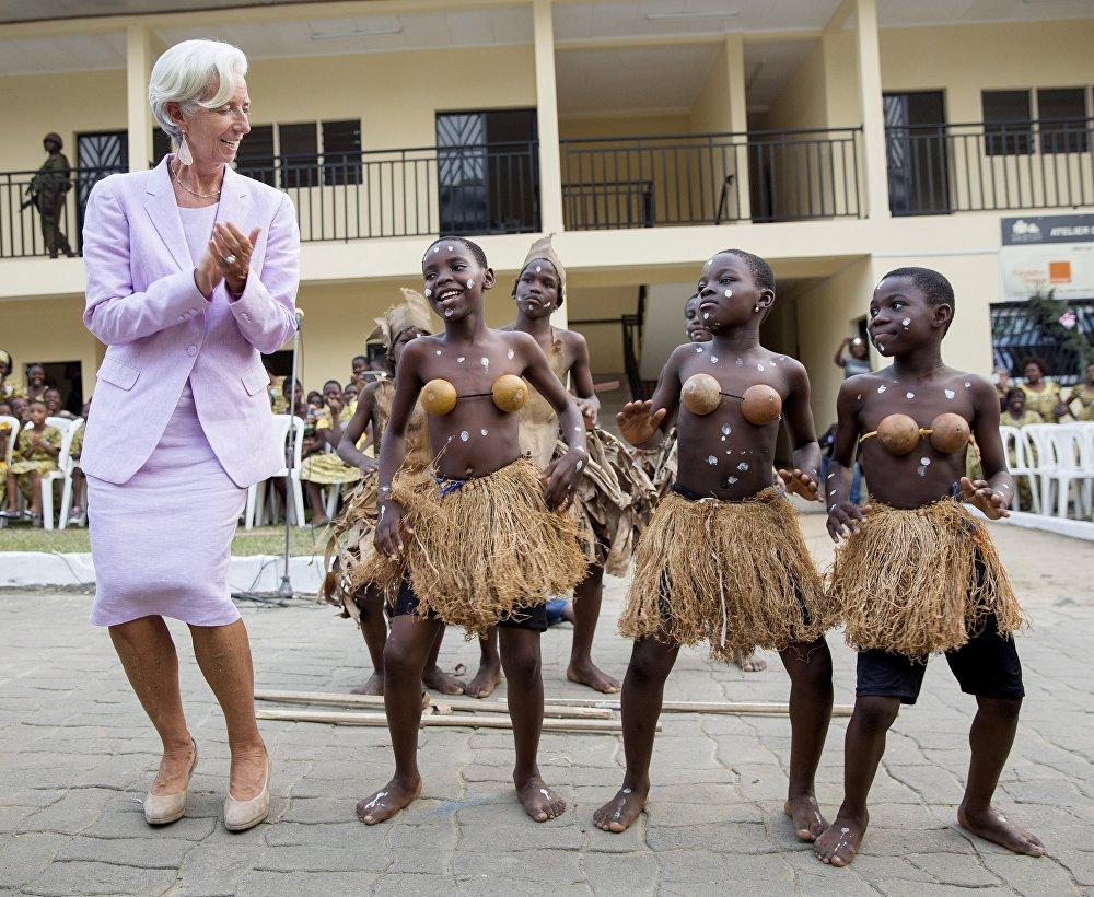 Визит главы Международного Валютного Фонда Кристин Лагард в Камерун