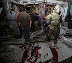 Иракта болгон варвардык террордук актылар жайында.