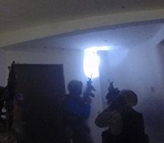 Штурм дома наркобарона Коротышки в Мексике. Кадры операции