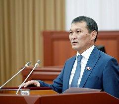Депутат Жыргалбек Саматов. Архивное фото