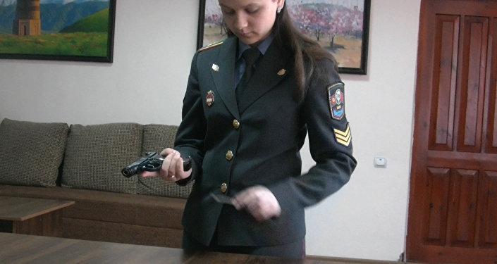 Будущий милиционер рассказала, как победила в научном конкурсе стран СНГ