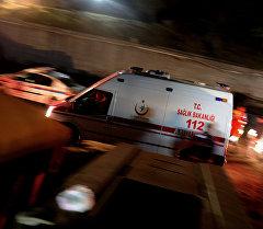 Карета скорой помощи в Турции. Архивное фото