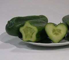 Огурцы-арбузы появятся в Бишкеке, обещает создатель овощей в форме сердец