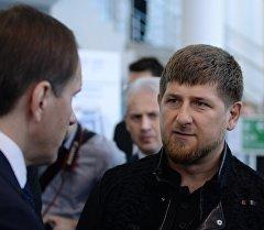 Чечен республикасынын башчысы Рамзан Кадыровдун архивдик сүрөтү