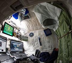 Каюта астронавта. Архивное фото