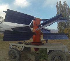 Изобретатель показал как работает гибридный ветряной генератор