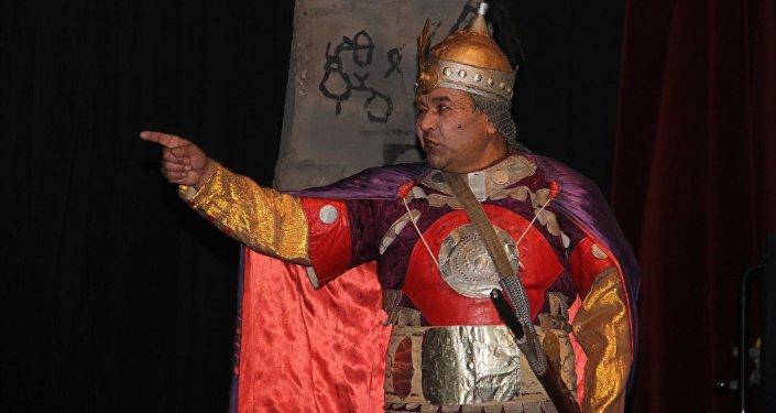 Премьера спектакля приурочена к Году истории и культуры, объявленному президентом Атамбаевым