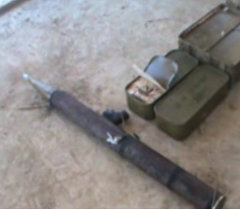 Спецслужбы извлекли из тайника террористов цинки патронов и гранатом