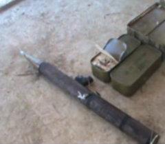 Атайын кызмат террорчулардын катылган гранатомет жана ок-дарысын таап