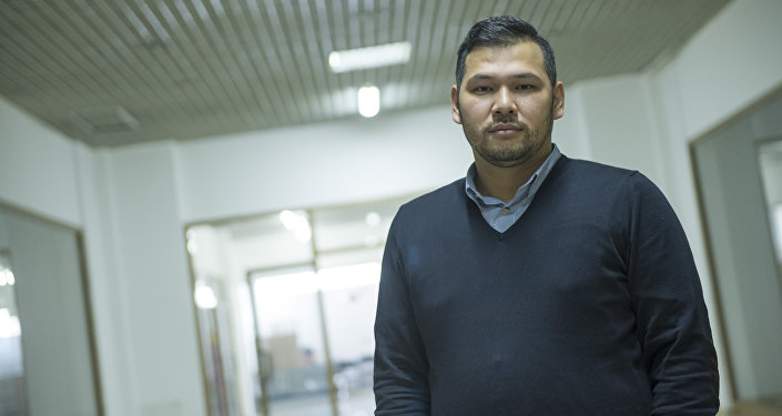 Маркетолог, директор брендингового агентства Чынгыз Канатбек.