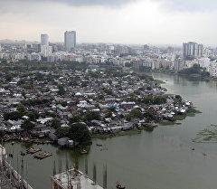 Дакка шаарына көрүнүш. Архив