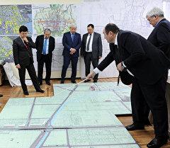 Премьер-министр Темир Сариев Бишкектин башкы планын жана деталдык пландоо долбоору менен таанышты.