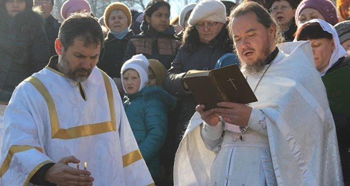 Благочинный по Ошскому округу Бишкекской и Кыргызстанской епархии, протоиерей Виктор Реймген