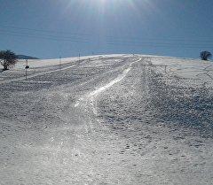 Жалал-Абаддын Сузак районунда алгачкы ирет ачылган тоо лыжа борбору.