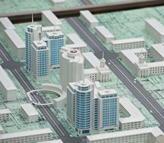 Сариевге Бишкек шаарынын келечектеги макетин көрсөтүштү