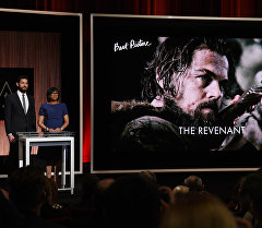 Показ фильма номинированный на Оскар Выживший. Архивное фото
