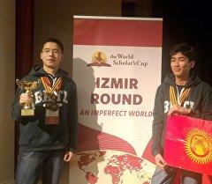 Эл аралык The World Scholar's Cup дебат турниринде беш алтын медалга ээ болгон Себат билим берүү мекемесинин окуучулары.
